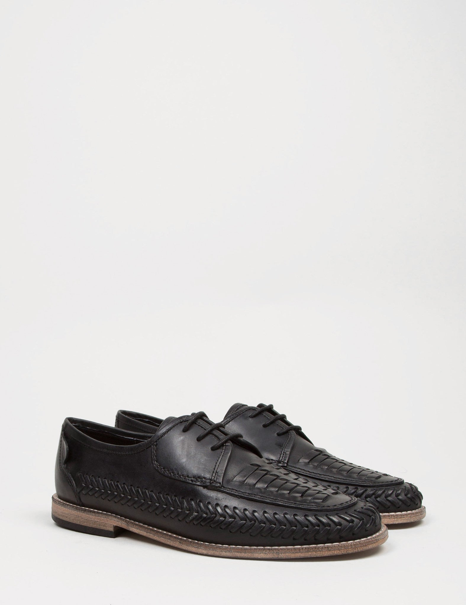 Hudson Anfa Calf Shoes - Black
