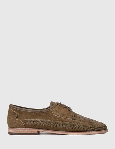 Hudson Anfa Suede Shoes - Tobacco Brown