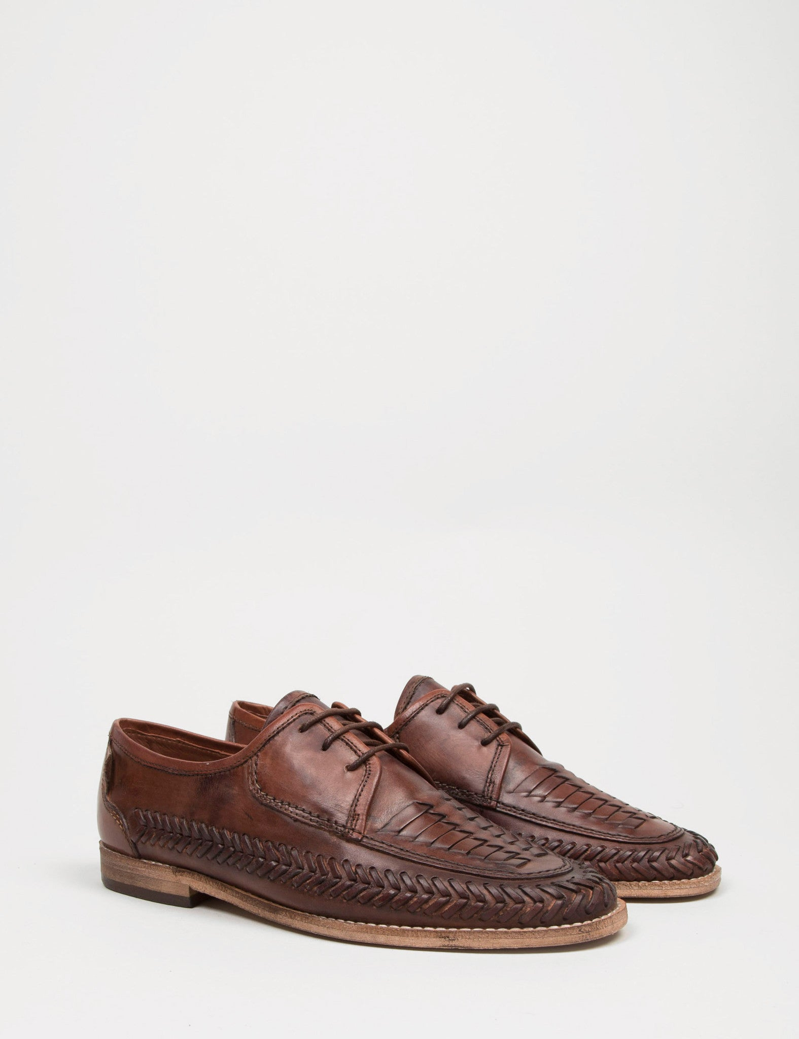 Hudson Anfa Calf Shoes - Cognac Brown