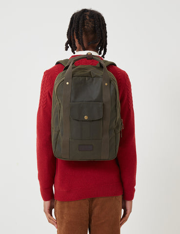 Barbour Houghton Backpack - Archive Olive Green
