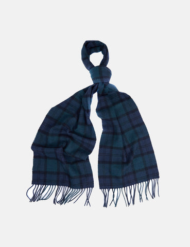 Barbour Tartan Lambswool Scarf - Black Watch