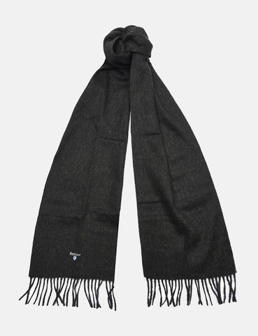 Barbour Plain Lambswool Scarf - Seaweed Green