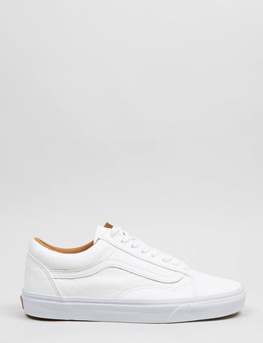 Vans Old Skool Premium Leather - True White