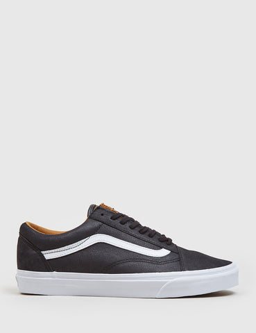 Vans Old Skool (Premium Leather) - Black