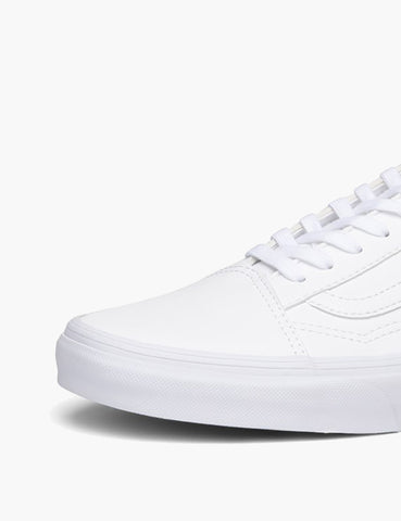 Vans Old Skool (Classic Tumble) - True White
