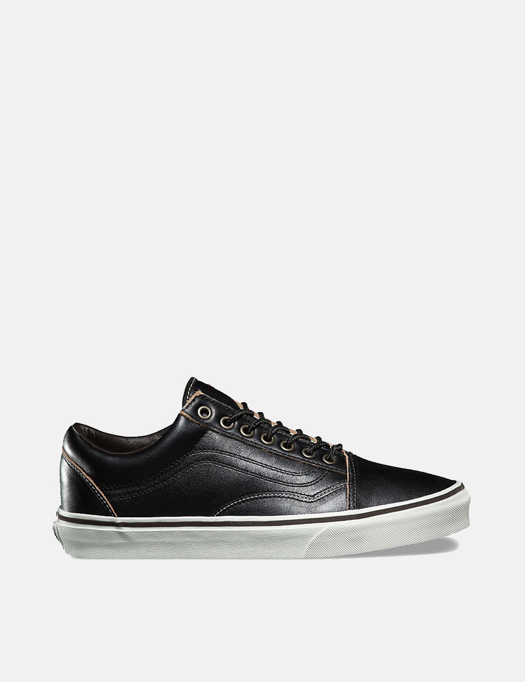 Vans Old Skool (Premium Leather) - Black  ce01a077ea9c