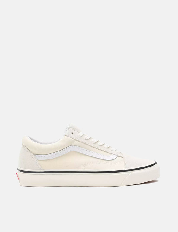 Vans Anaheim Old Skool 36 DX (Suede/Canvas) - Factory Classic White