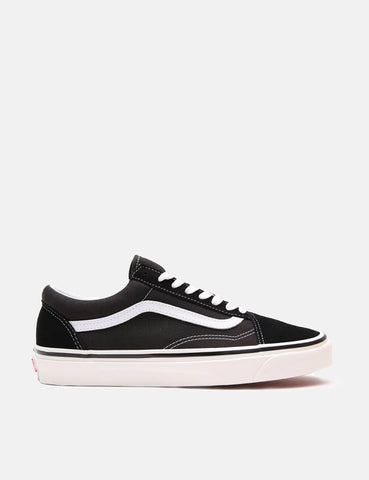 Vans Anaheim Old Skool 36 DX (Suede/Canvas) - Black/True White