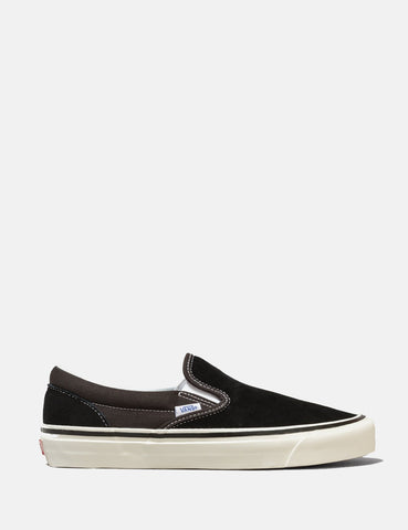 Vans Anaheim Slip-On 98 DX (Suede/Canvas) - OG Black