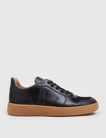Veja V-10 Bastille Trainers - Black/Natural