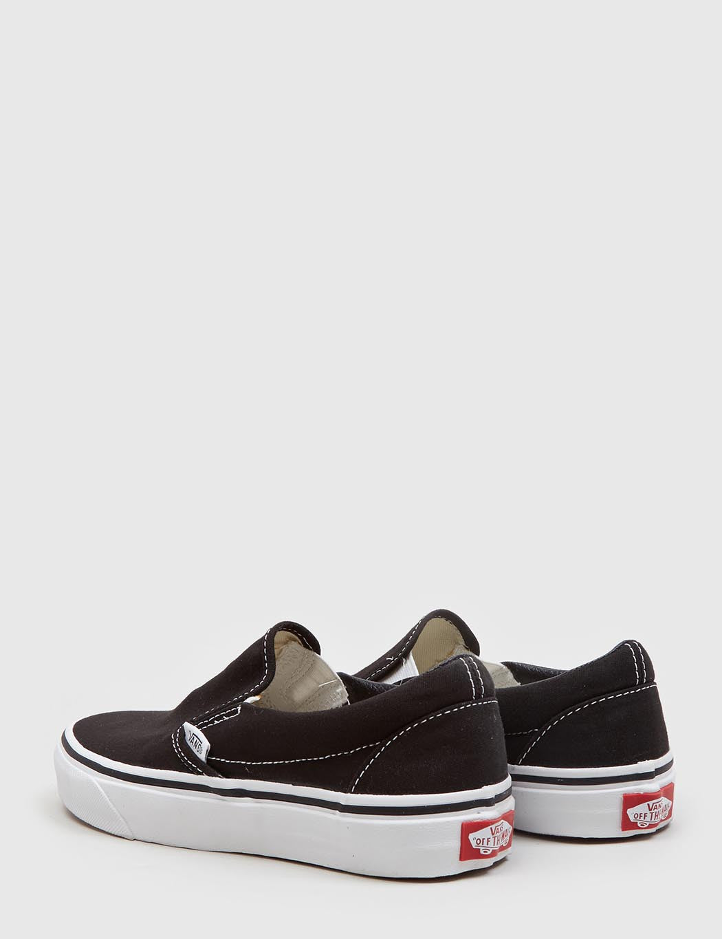 Vans Classic Slip-On (Canvas) - Black