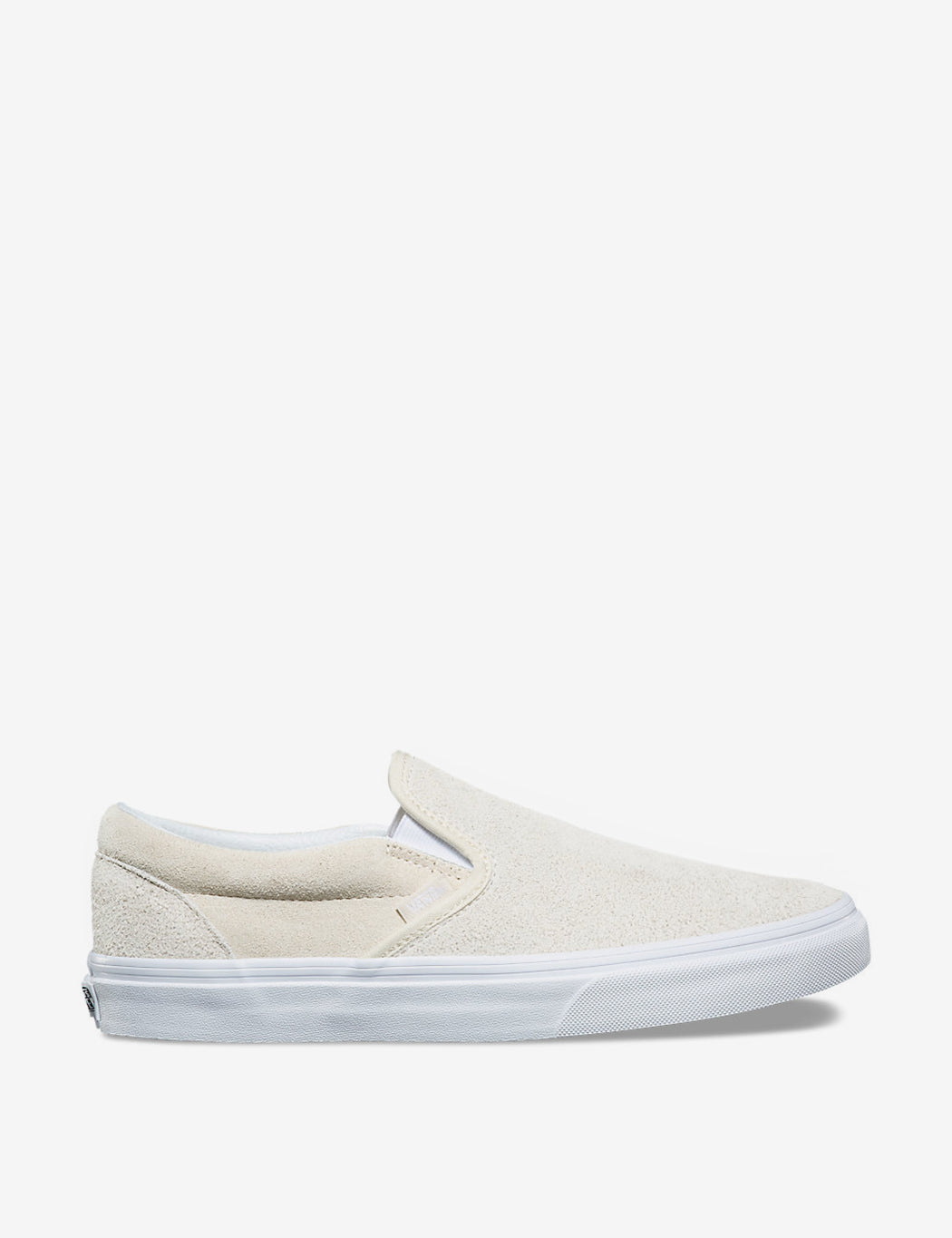 78e5e11d0a39b6 Vans Classic Slip-On (Hairy Suede) - Turtledove Off White