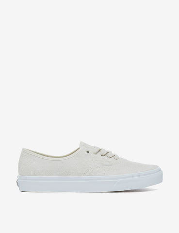 Vans Authentic (Hairy Suede) - Turtledove Off White