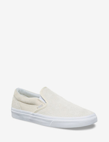 Vans Classic Slip-On (Hairy Suede) - Turtledove Off White
