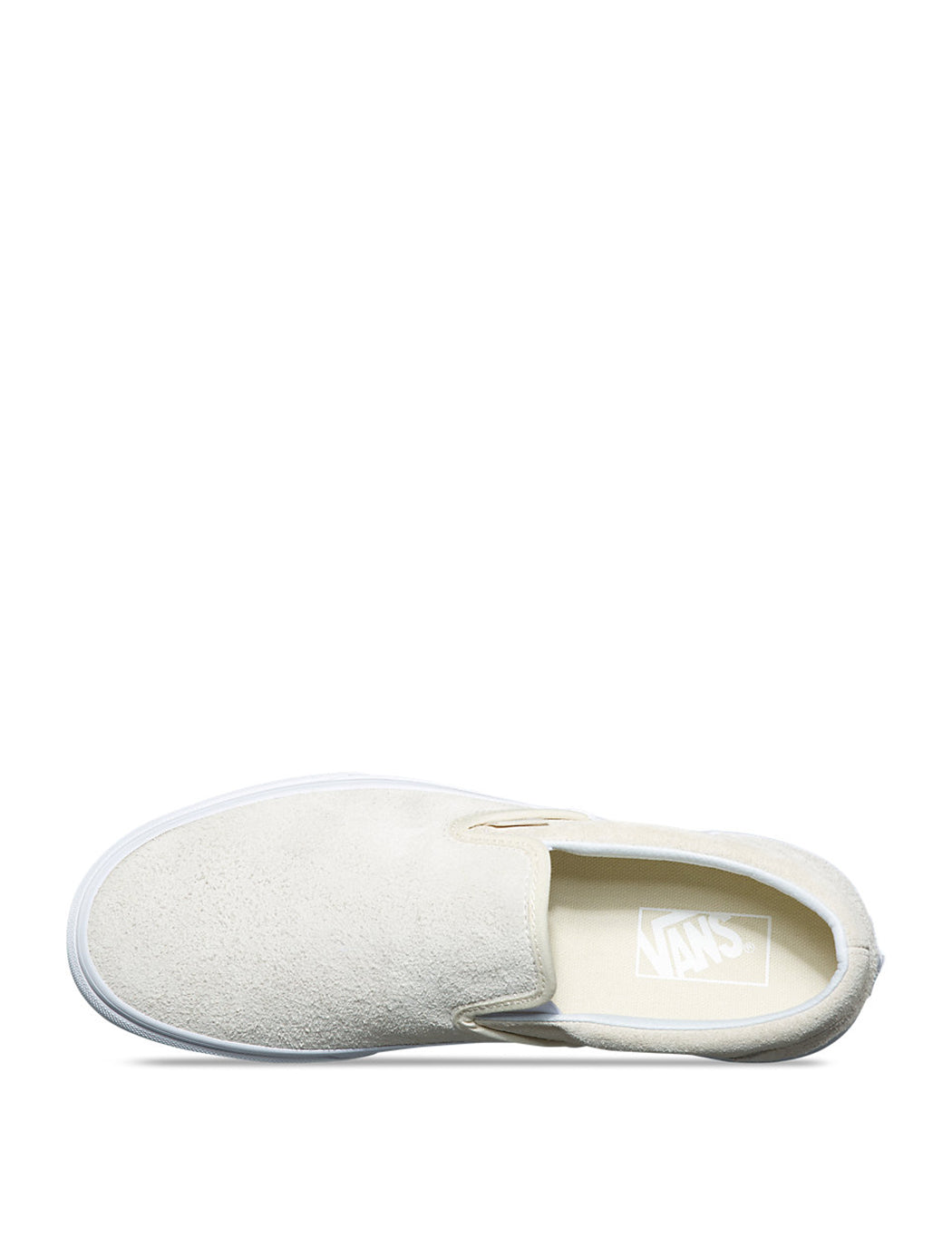 373d42a6cd ... Vans Classic Slip-On (Hairy Suede) - Turtledove Off White ...