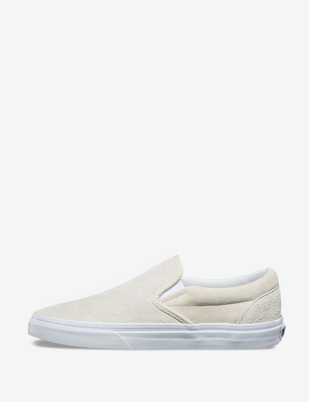 25cd4f8a22d3cf ... Vans Classic Slip-On (Hairy Suede) - Turtledove Off White ...