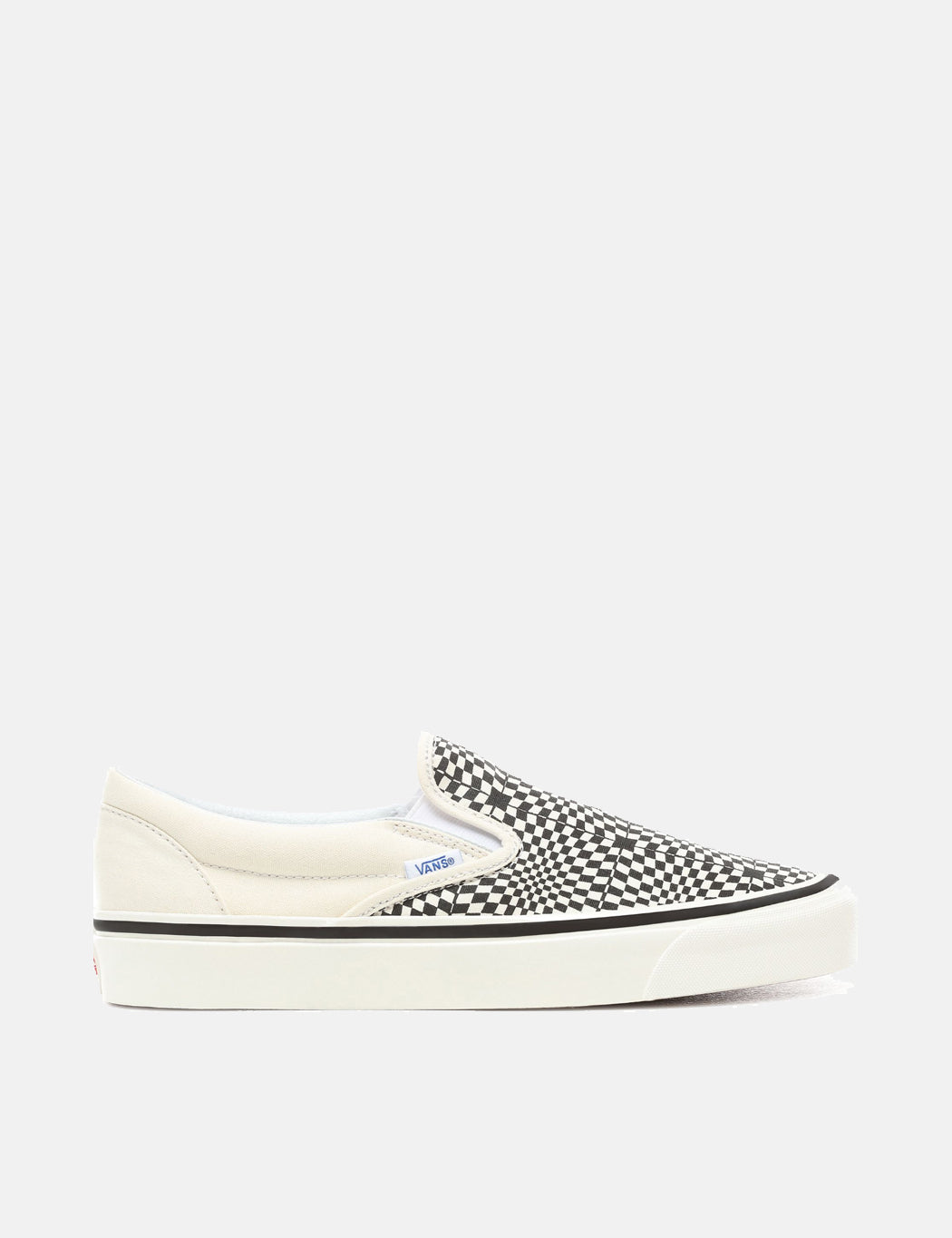 280f7d17668b4f Vans Classic Slip-On 98 DX (Canvas) in Anaheim Factory OG Black White Warp  Check