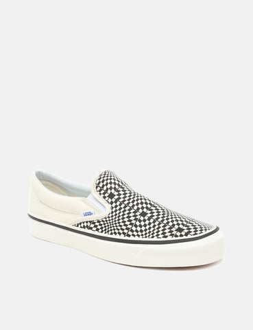 Vans Classic Slip-On 98 DX (Canvas) - Anaheim Factory OG Black/White/Warp Check