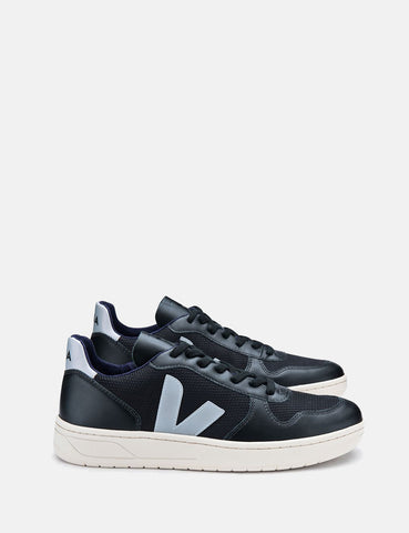 Veja V-10 Mesh Trainers - Black/Oxford Grey