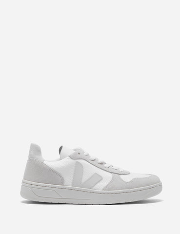 Veja V-10 B-Mesh Trainers - White/Natural