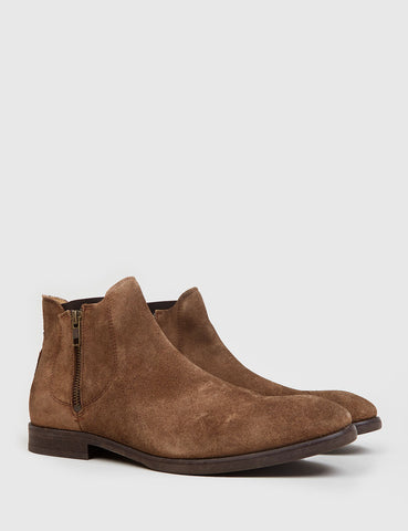 Hudson Mitchell Chelsea Boot (Suede) - Tobacco