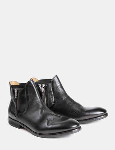 Hudson Mitchell Chelsea Boot (Leather) - Black