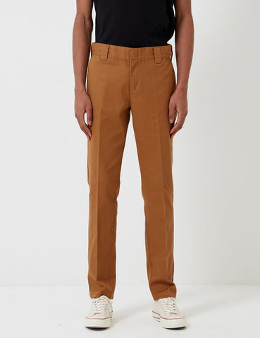 Dickies 872 Work Pants (Slim) - Brown Duck