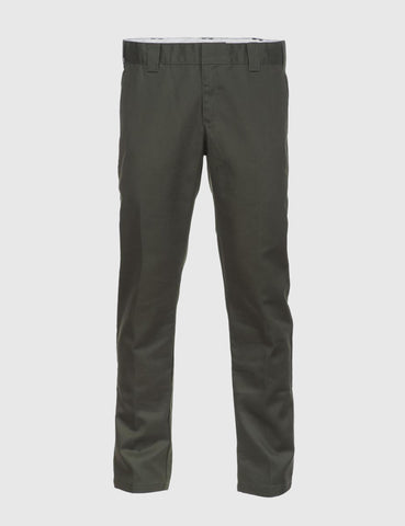Dickies 872 Work Pants (Slim) - Olive Green