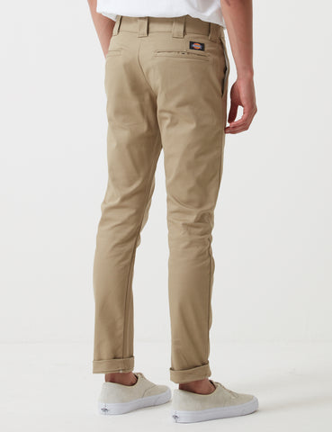 Dickies 803 Chino Trousers (Slim Skinny) - Khaki