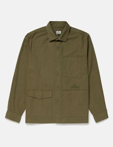 72e9715146c51 SCRT Work Shirt - Olive Green ...
