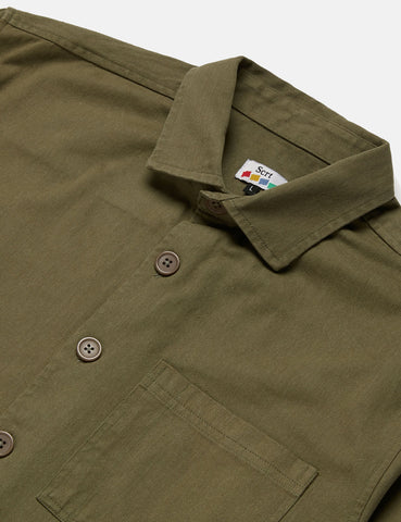 SCRT Work Shirt - Olive Green
