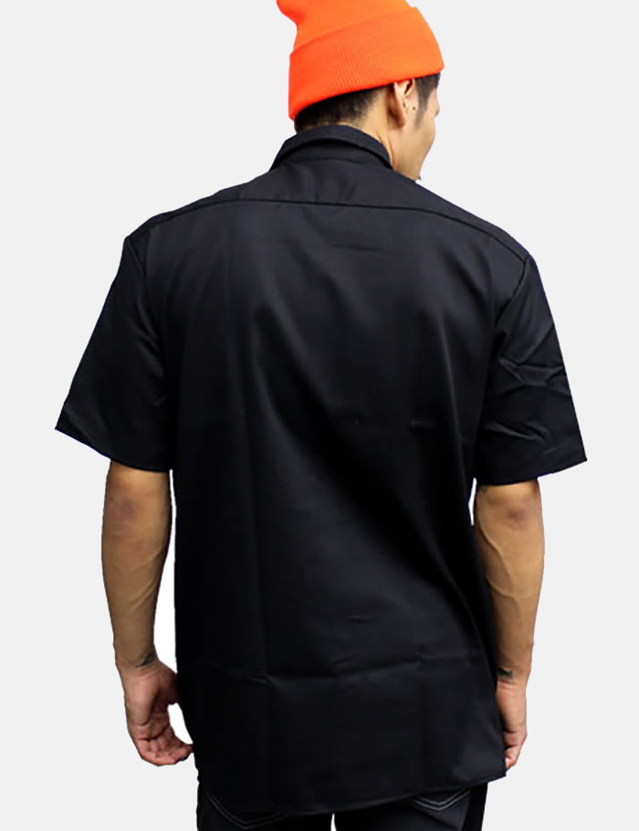 Dickies Work Short Sleeve Shirt - Black