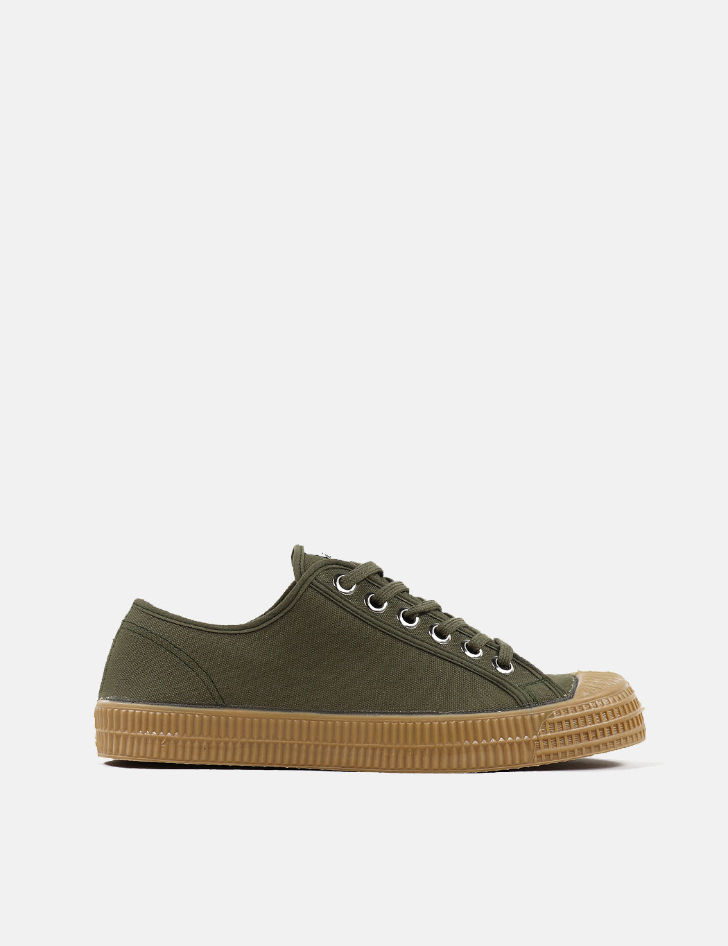 Novesta Star Master Trainers (Canvas) - Military Green/Gum