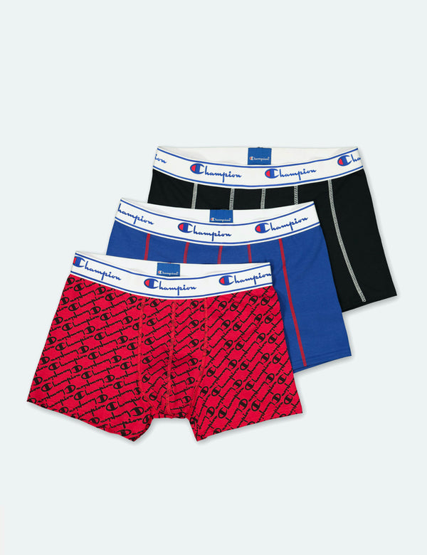 Champion Boxer Shorts (3 pack) - Multi Colour
