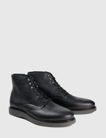 Hudson Aldford Ankle Boots (Leather) - Black