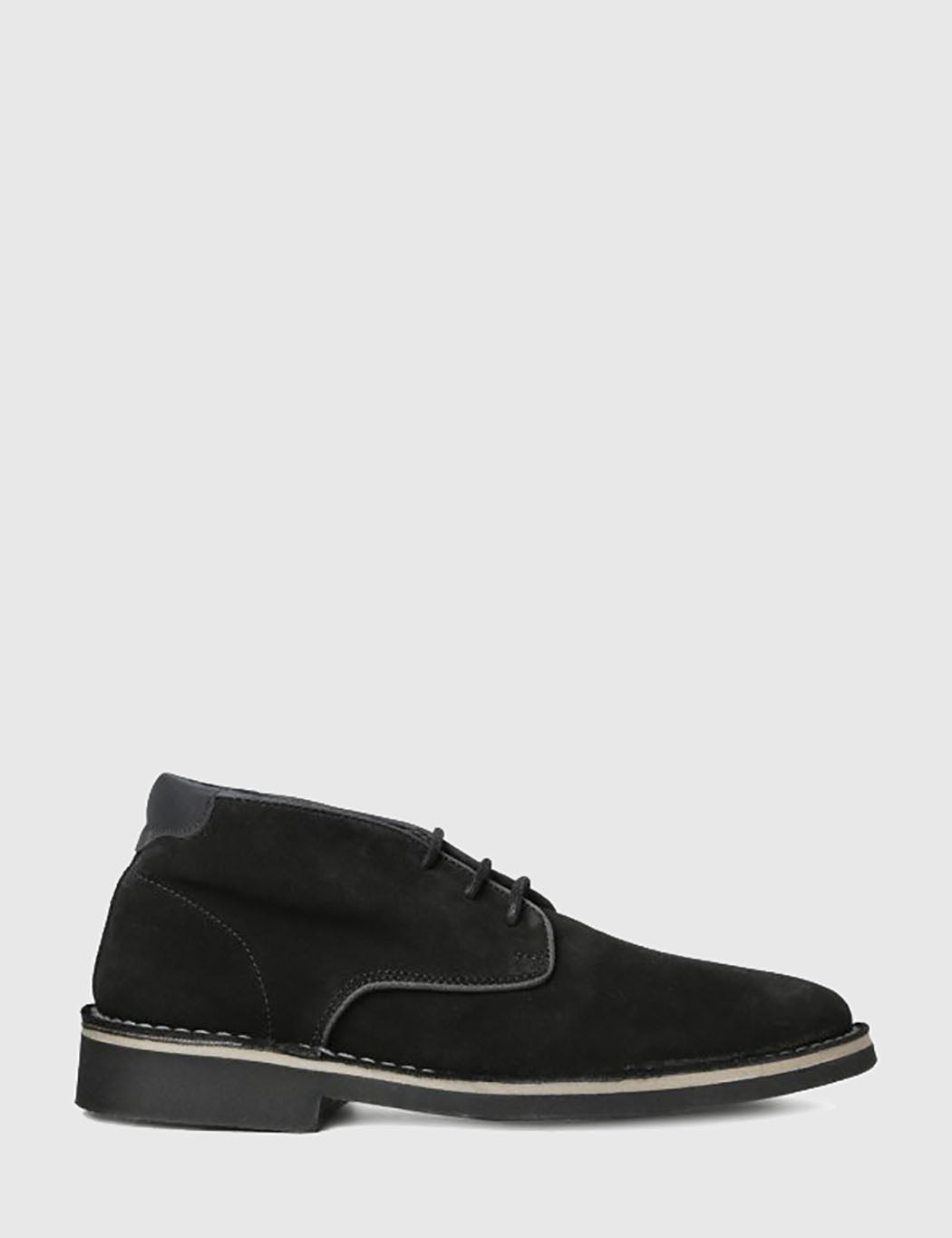 Hudson Margrey Chukka Boots (Suede) - Black