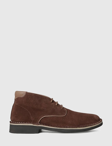 Hudson Margrey Chukka Boots (Suede) - Brown