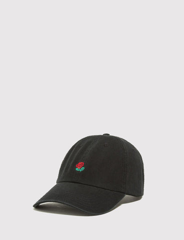 The Hundreds The Rose Curved Peak Cap - Black