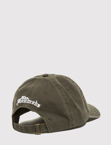The Hundreds Rose Curved Peak Cap - Olive Green