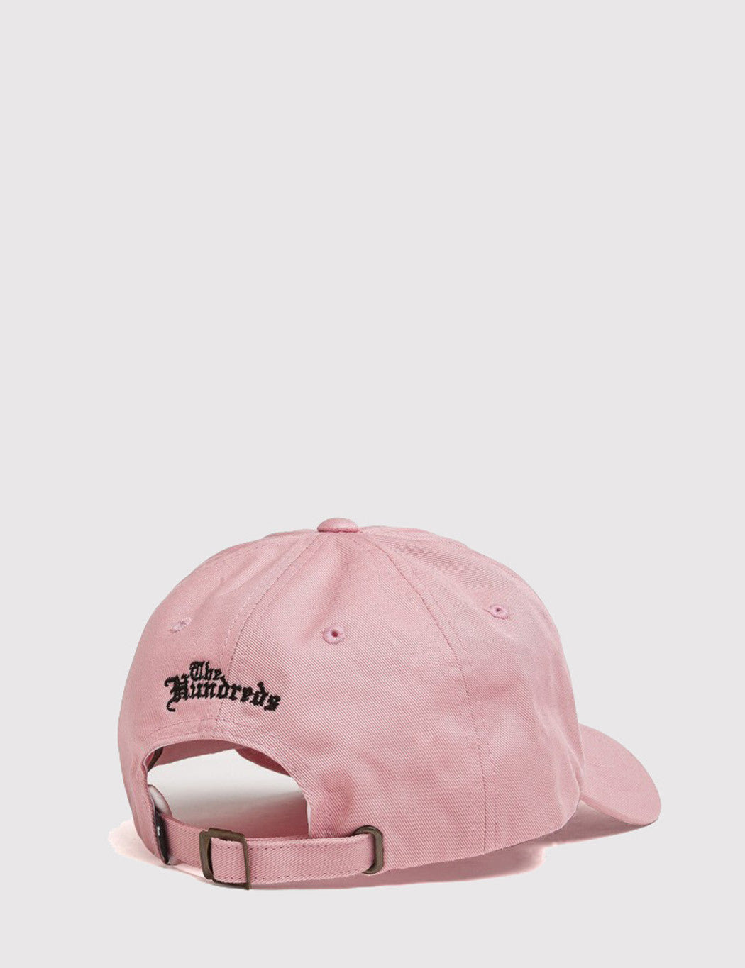 The Hundreds The Rose Curved Peak Cap - Pink