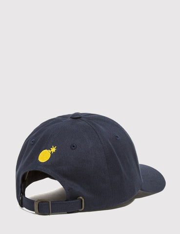 The Hundreds Pigs Curved Peak Cap - Navy