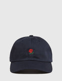 The Hundreds The Rose Curved Peak Cap - Navy