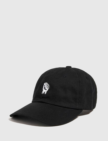 The Hundreds Fist Curved Peak Cap - Black