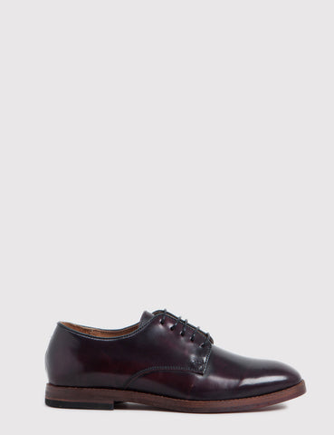 Hudson Clay Hi-Shine Shoes - Bordo