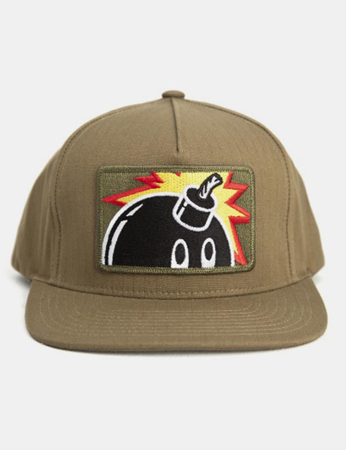 The Hundreds Patch Adam Snapback Cap - Olive