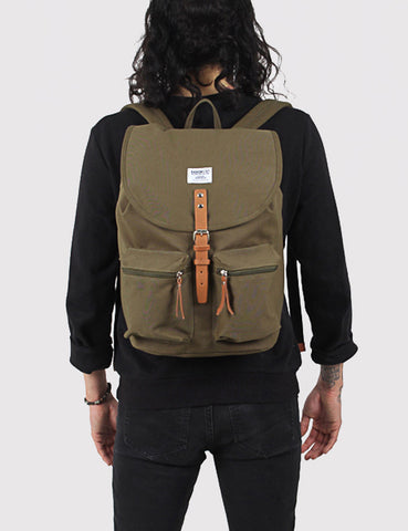 Sandqvist Roald Ground Backpack - Olive