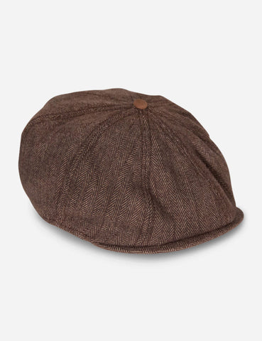 Goorin The Times Newsboy Cap - Brown