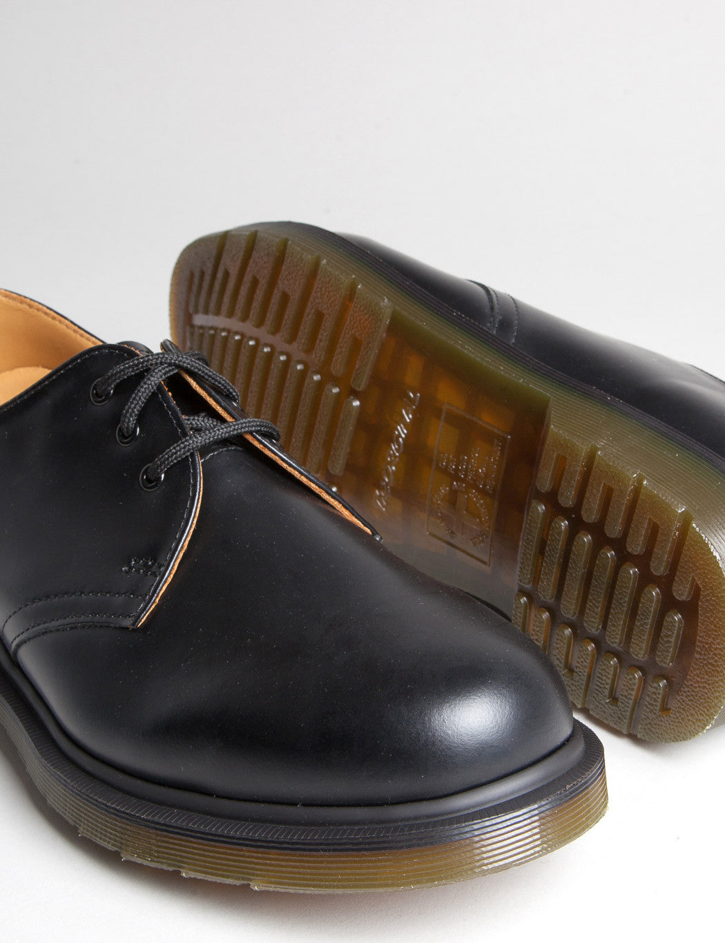 new collection new style look for Dr Martens 1461 Plain Welt Shoes (11839002) - Black Smooth