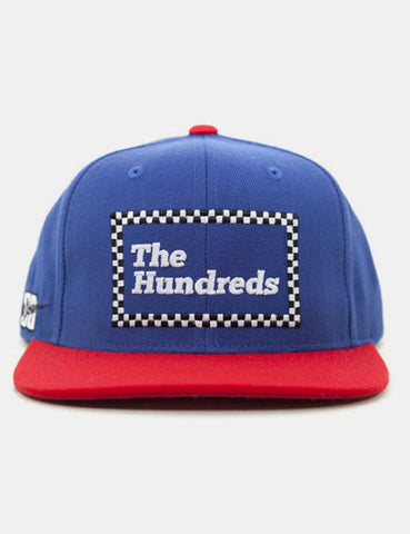 The Hundreds Dale Snapback Cap - Blue