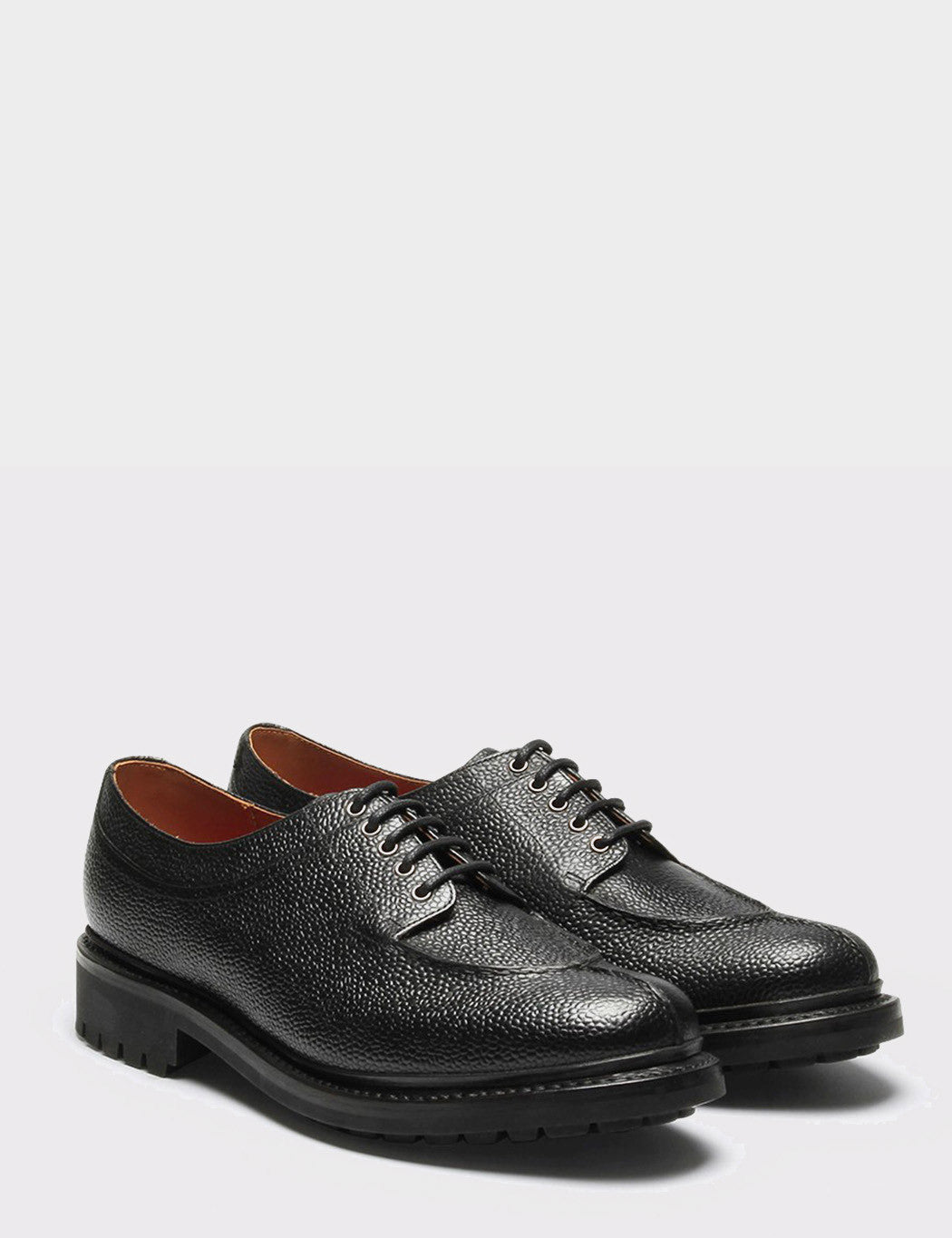 Grenson Percy Shoe - Black Grain